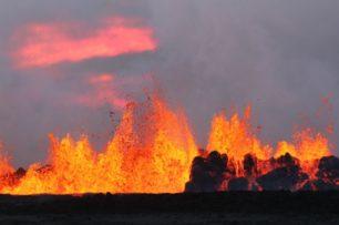 Bardarbunga en éruption en Islande