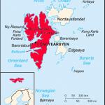 carte du Spitsberg