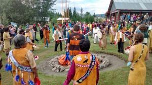 Festival traditionnel au Yukon