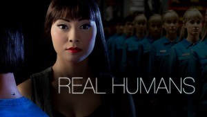 affiche de la série real humans