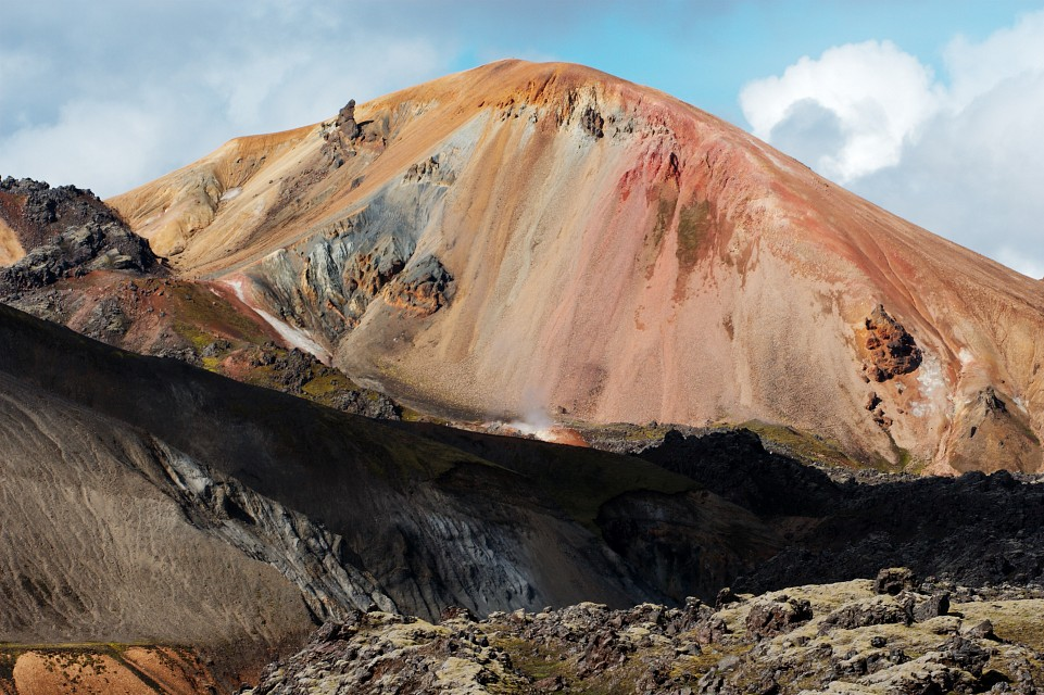 Photo du Volcan islandais Brennisteinsalda