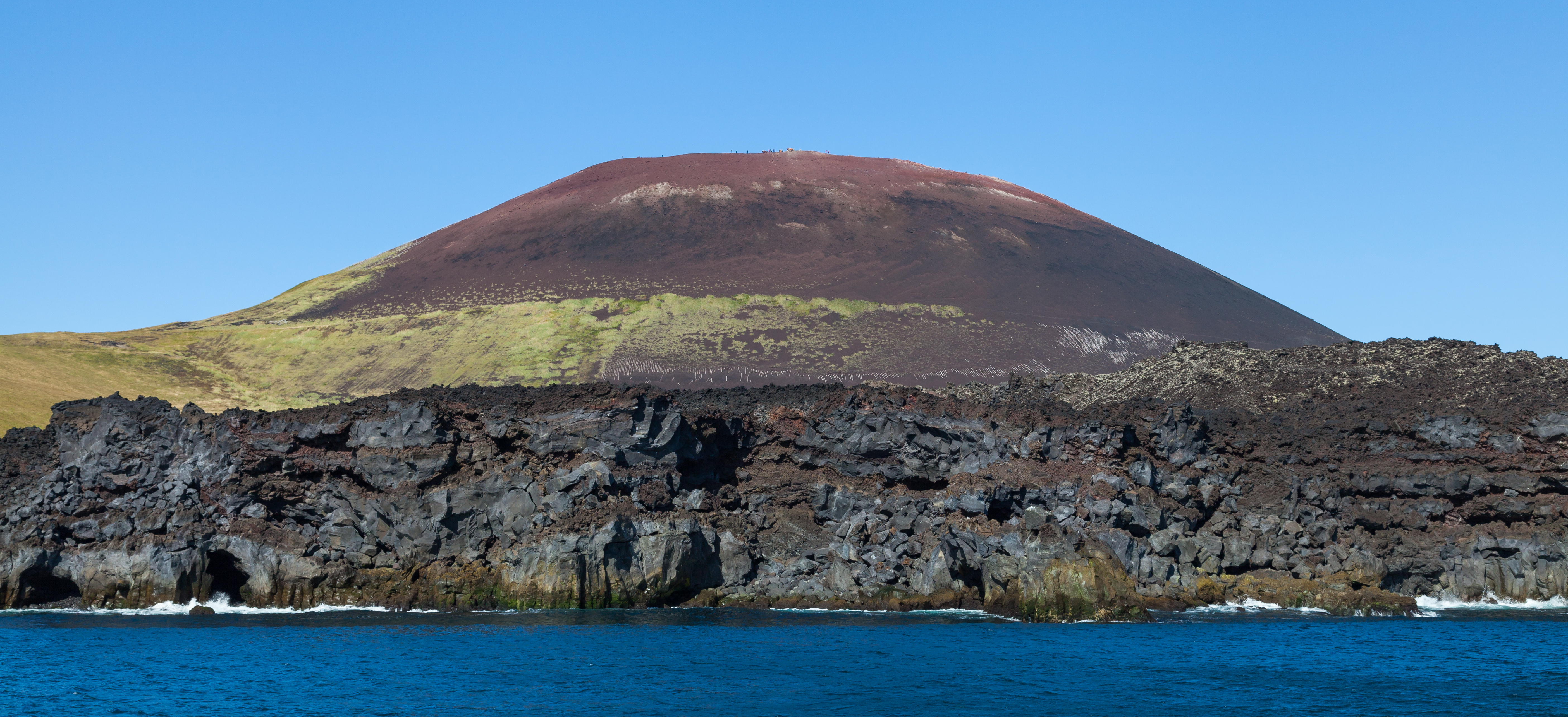 Photo du Volcan islandais Eldfell