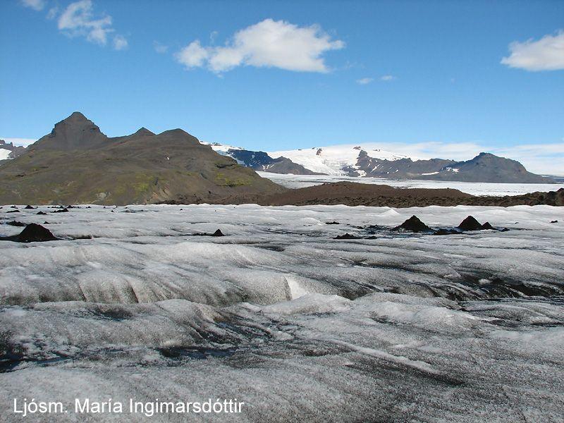 Photo du Volcan islandais Esjufjöll