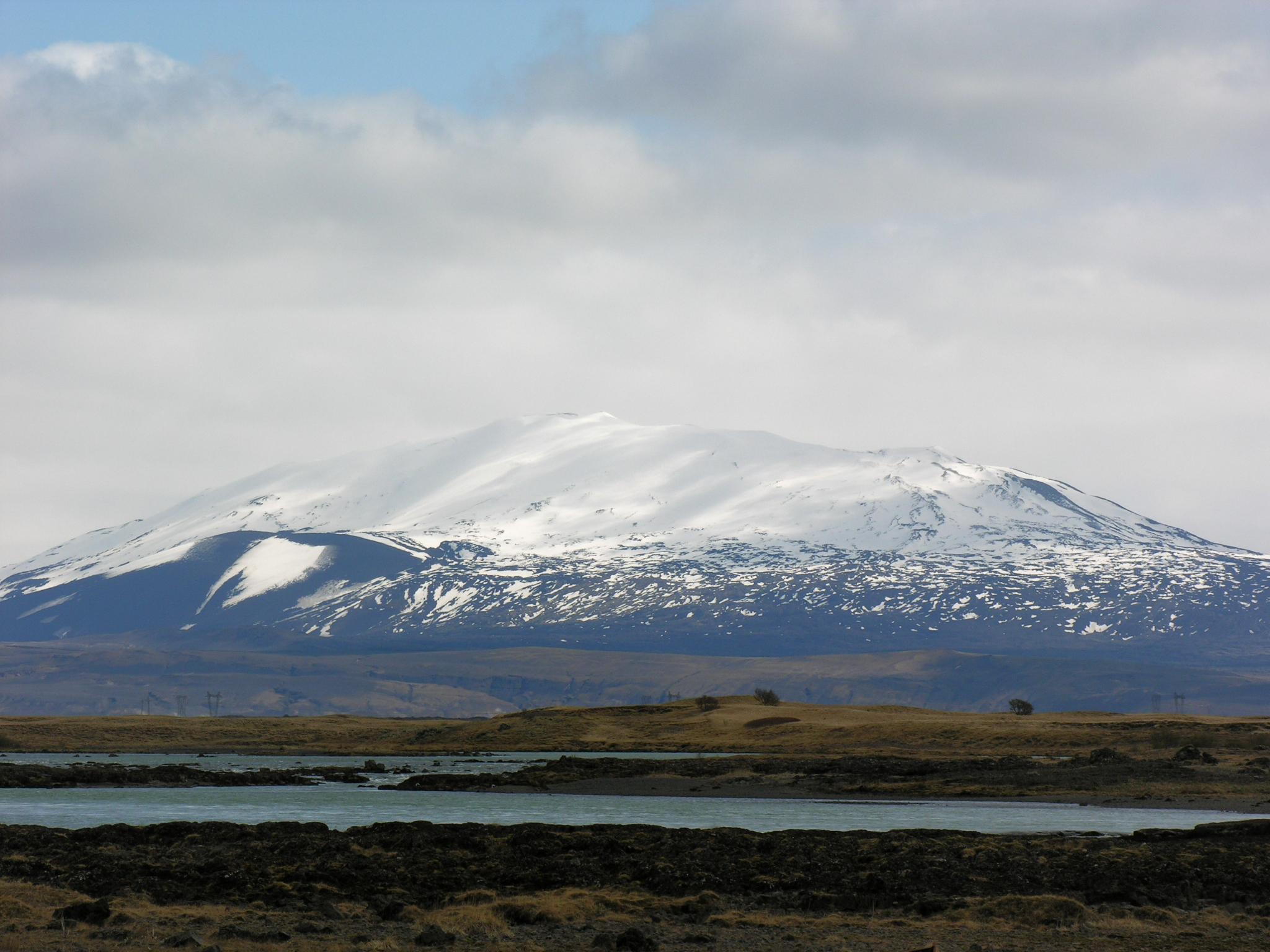 Photo du Volcan islandais Hekla