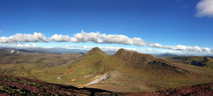 Photo du Volcan islandais Hrómundartindur