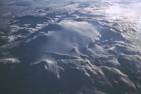 photo du glacier islandais Tungnafellsjokull