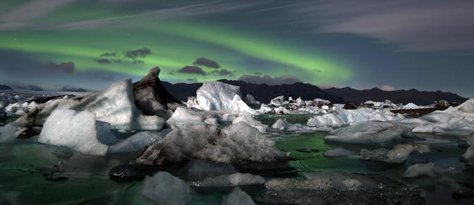 photo du glacier islandais Vatnajökull