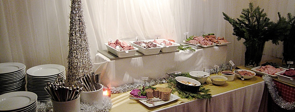 Photo du buffet de noël suédois