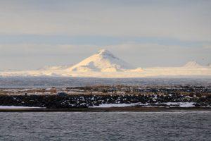 photo du glacier recouvrant le katla