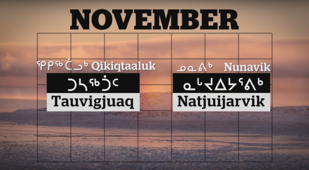 image den ovembre en inuktituk