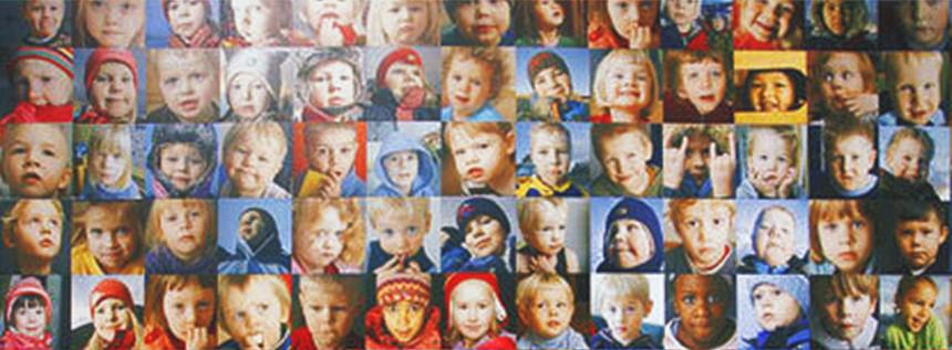 photos d enfants islandais