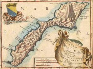 carte de l'ile jan mayen réalisée par Coronelli