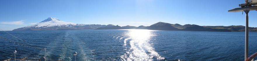 photo de l'île jan mayen Norvège
