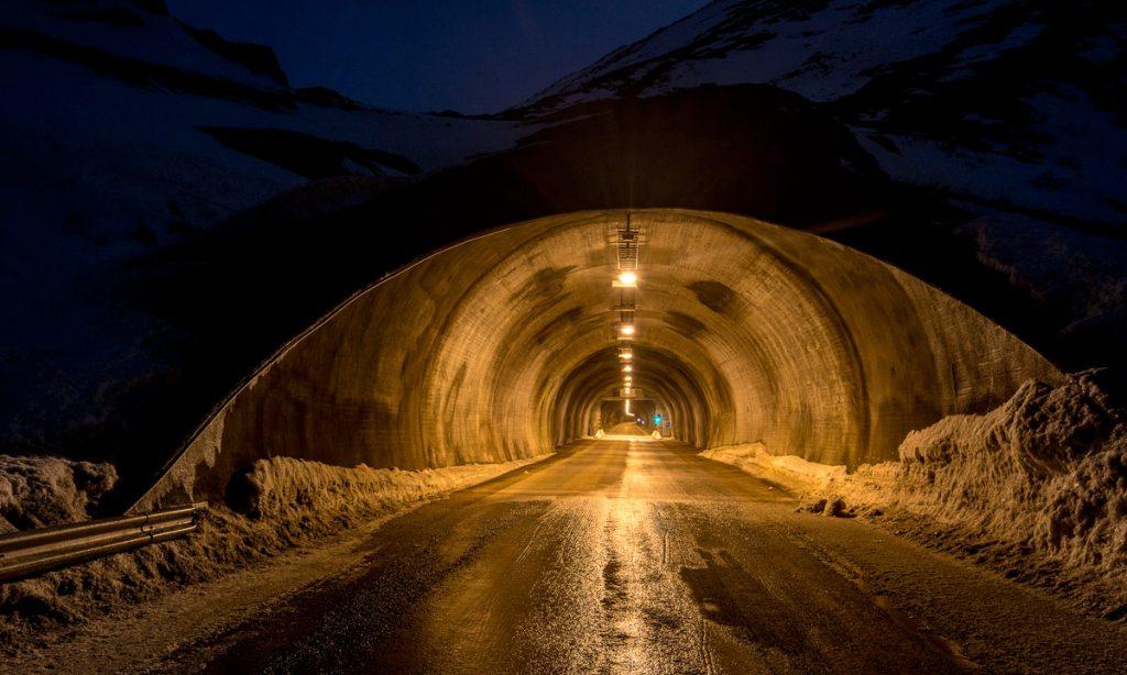 photo du tunnel ile mageroya