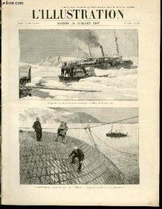 Images de Illustration sur l'expédition andrée