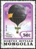 image d'un timbre de l expédition Andrée