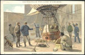 timbre de l expédition Andrée