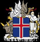 armoiries de l'Islande