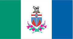 image du drapeau du yukon