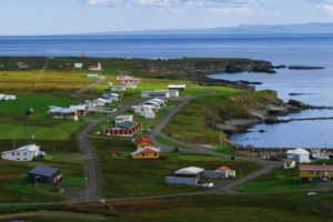 photo de ile de grimsey islande