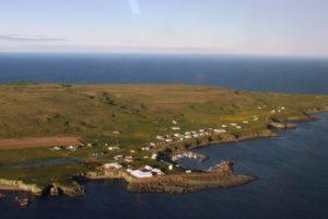photo de ile de grimsey islande