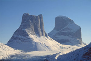 photo de l'île de baffin