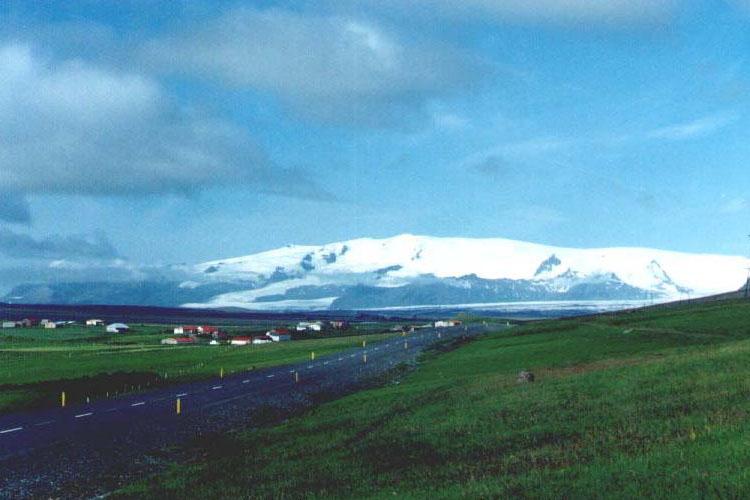 photo du Hofsjökull