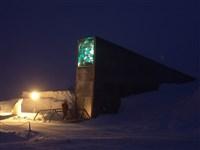 photo de la réserve de graine du svalbard