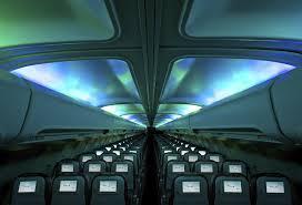intérieur du boeing 757-200 d'icelandair