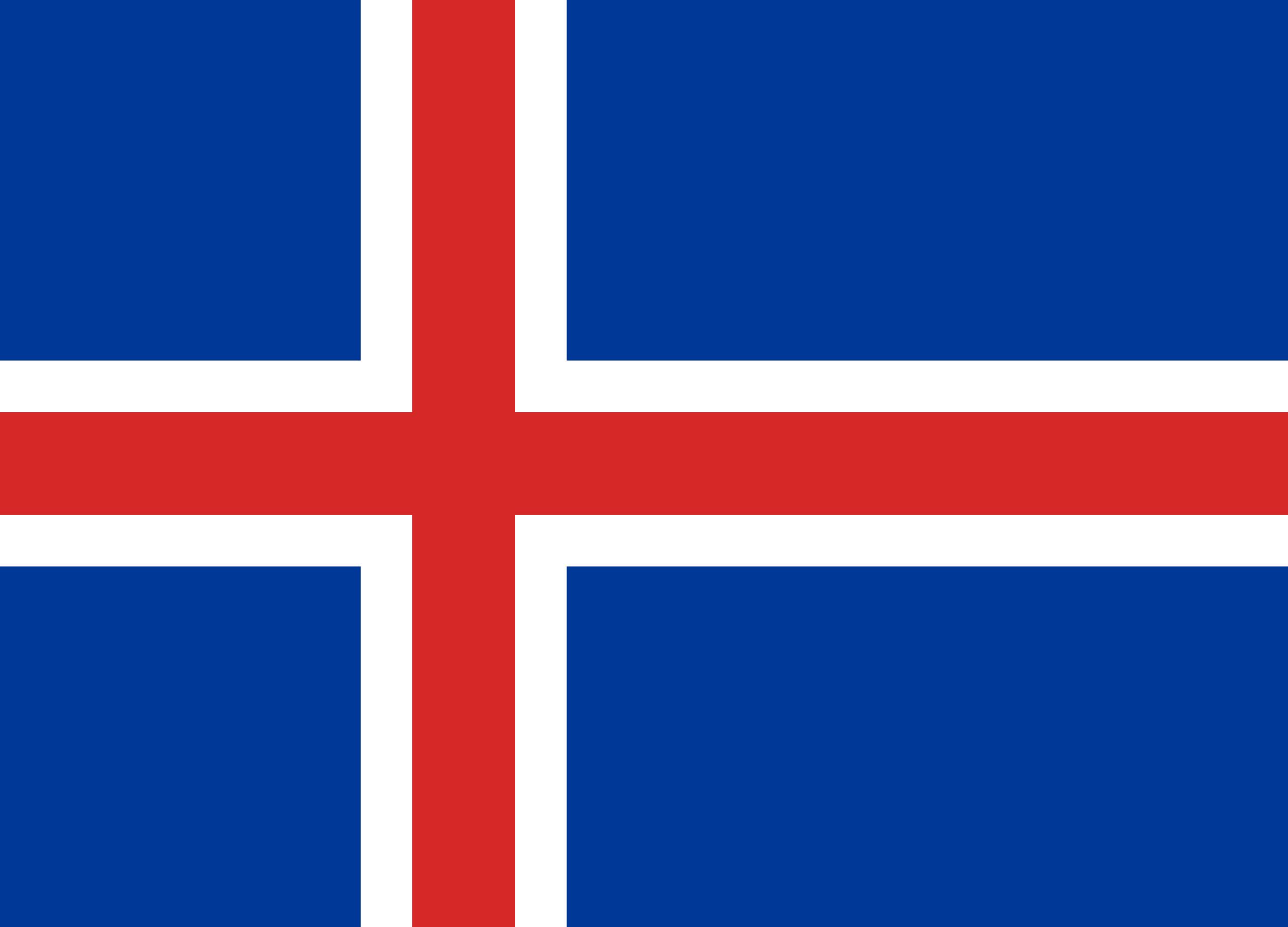 drapreau de l'islande