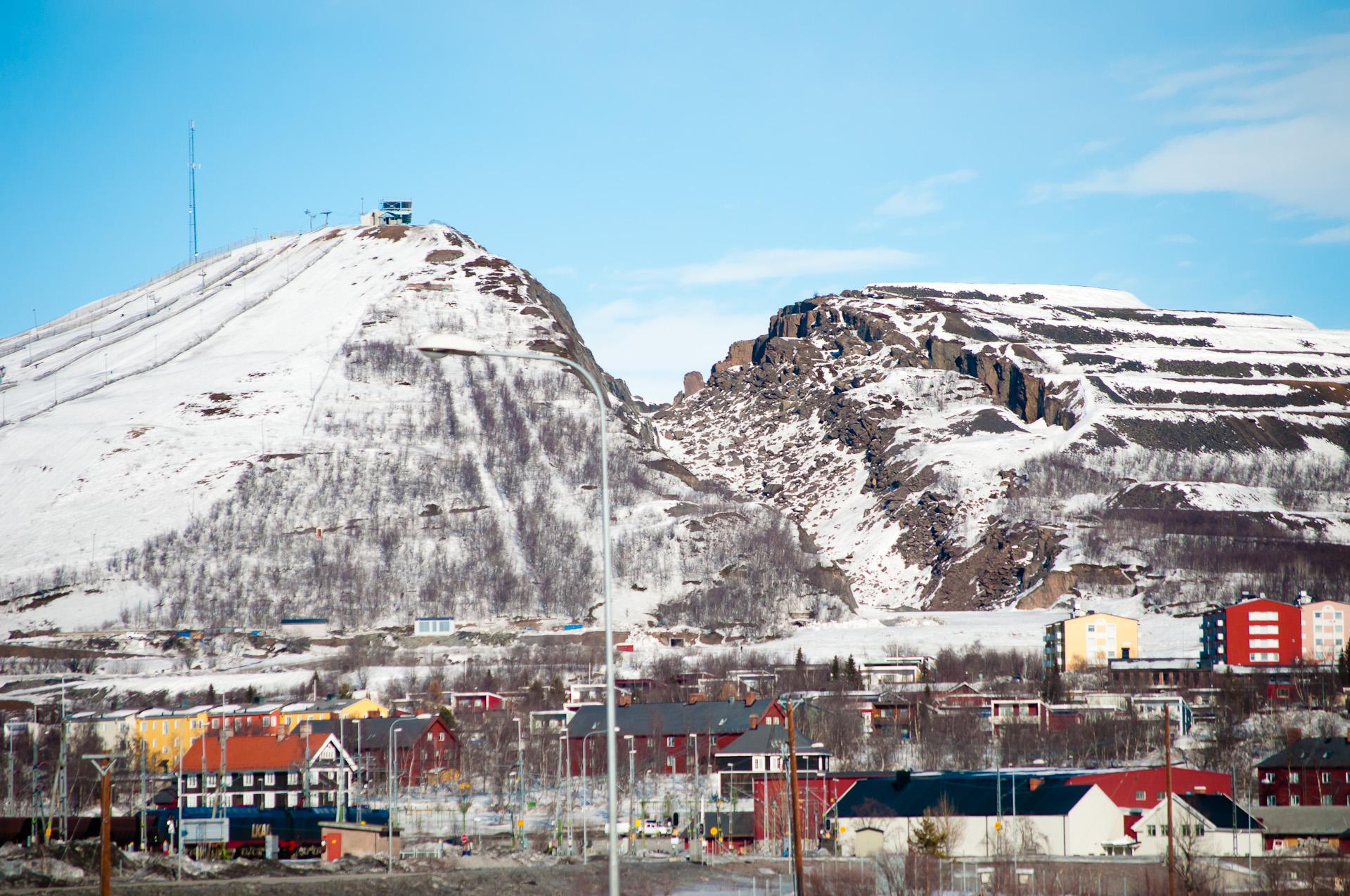 photo de la ville de kiruna