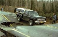 route après fonte du permafrost