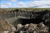 trou dans le permafrost